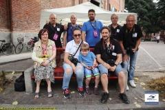 Foto di gruppo durante il 40° Palio di San Pietro 2019