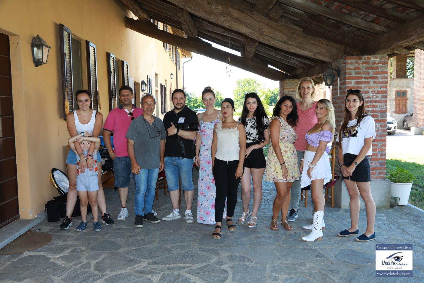 Workshop di ritratto Luglio 2020 - fine giornata