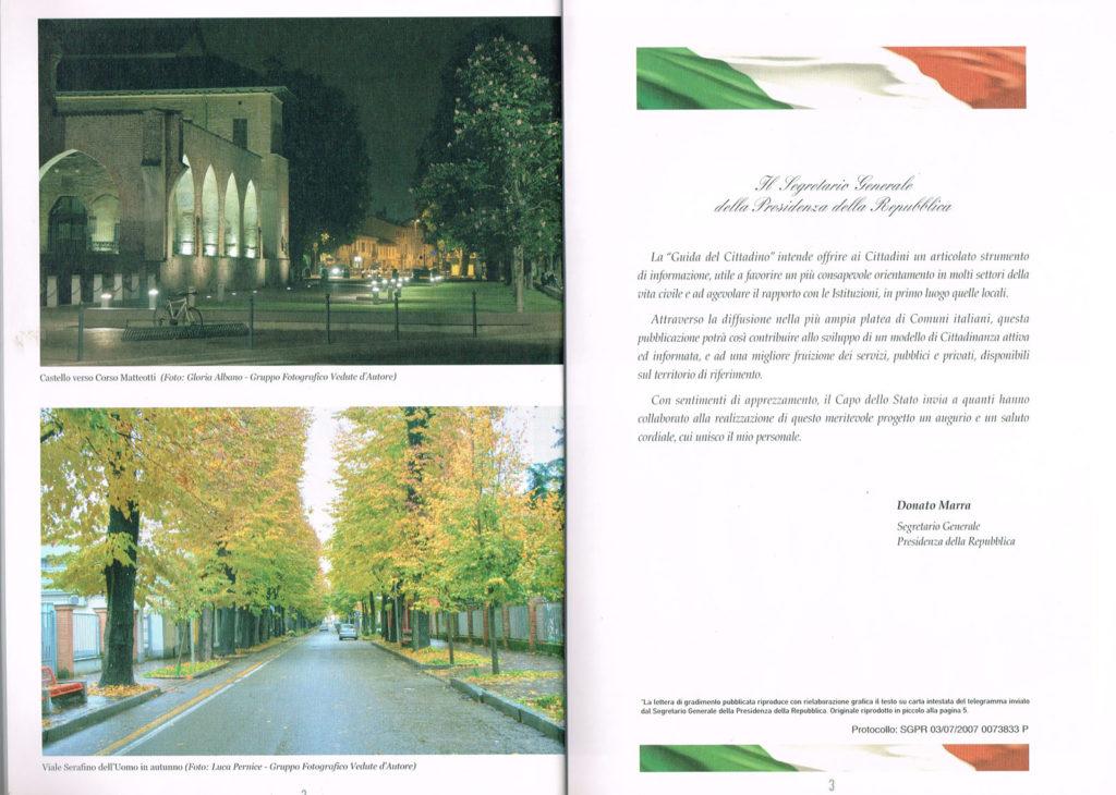 2 Pagina interna della Guida Noi Cittadini - Abbiategrasso (Castello Verso Corso Matteotti e Via Serafino dell