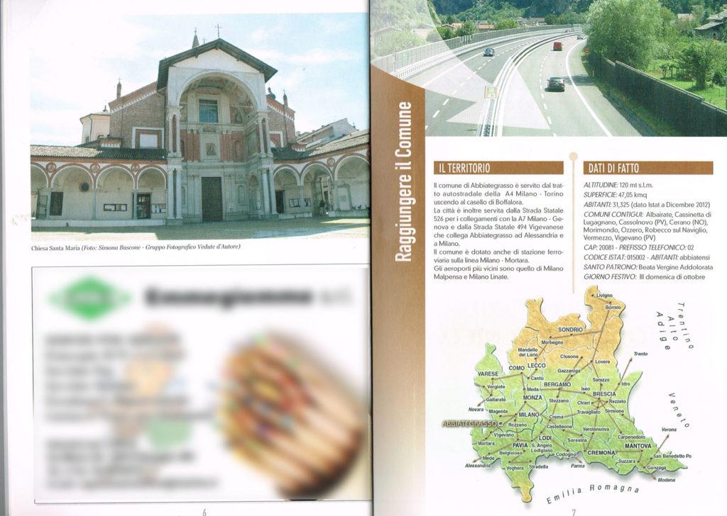 3 Pagina interna della Guida Noi Cittadini - Abbiategrasso (Chiesa Santa Maria Nuova) Foto Simona Buscone Vedute D